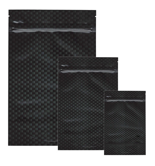 Mylar Stealth Bag, Carbon Fiber - The Baggie Store