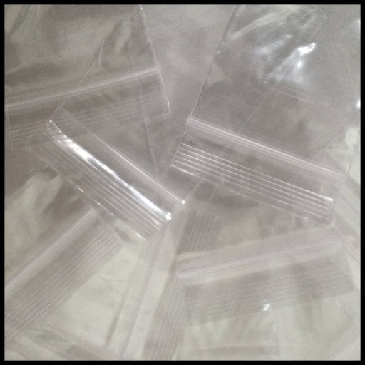"2030 4 mil Extra Thick Mini Ziplock Plastic Bags 2"" x 3"" Reclosable Baggies (Clear) - The Baggie Store"