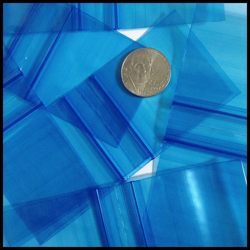 "175175 Original Mini Ziplock 2.5mil Plastic Bags 1.75"" x 1.75"" Reclosable Baggies (Blue) - The Baggie Store"