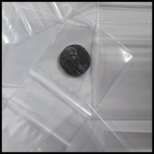 "2020 Original Mini Ziplock 2.5mil Plastic Bags 2"" x 2"" Reclosable Baggies (Clear) - The Baggie Store"