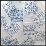 "5858 Original Mini Ziplock 2.5mil Plastic Bags 5/8"" x 5/8"" Reclosable Baggies (Blue Devil) - The Baggie Store"
