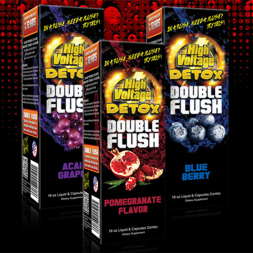 High Voltage Double Flush Combo - The Baggie Store