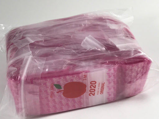 "2020 Original Mini Ziplock 2.5mil Plastic Bags 2"" x 2"" Reclosable Baggies (Pink Panther) - The Baggie Store"