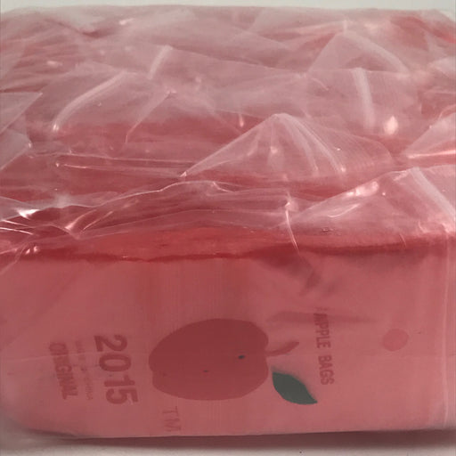 "2015 Original Mini Ziplock 2.5mil Plastic Bags 2"" x 1"" Reclosable Baggies (Red) - The Baggie Store"