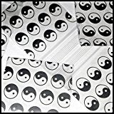 "1515 Original Mini Ziplock 2.5mil Plastic Bags 1.5"" x 1"" Reclosable Baggies (Yin Yang / Taiji) - The Baggie Store"