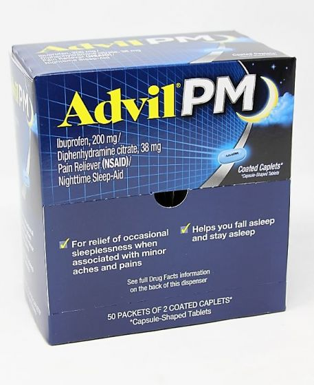 DSP* ADVIL PM 50'S (BX) - The Baggie Store