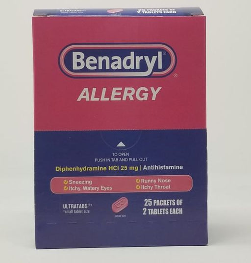 DSP* BENADRYL 25'S ALLERGY *** (BX) - The Baggie Store