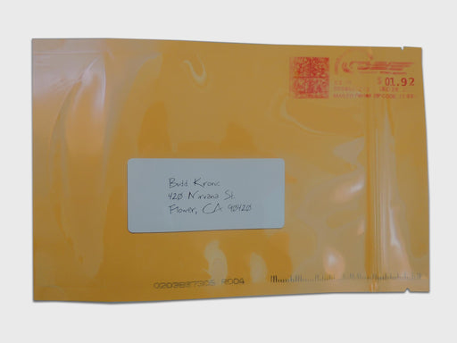 Mylar Stealth Bag, Manilla Envelope, 1oz - The Baggie Store