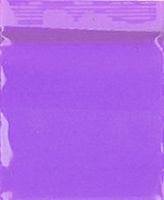 "1212 Original Mini Ziplock 2.5mil Plastic Bags 1/2"" x 1/2"" Reclosable Baggies (Purple) - The Baggie Store"