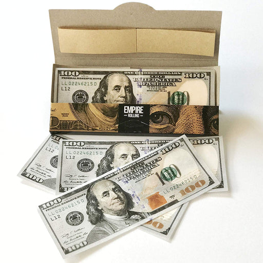 EMPIRE $100 Dollar Bill Papers - The Baggie Store