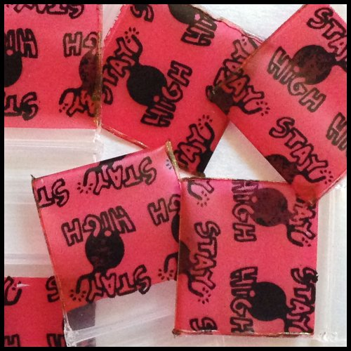 "5858 Original Mini Ziplock 2.5mil Plastic Bags 5/8"" x 5/8"" Reclosable Baggies (Stay High) - The Baggie Store"