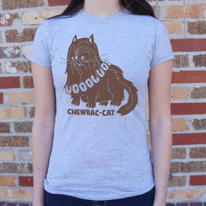 Chewbac-Cat T-Shirt (Ladies)