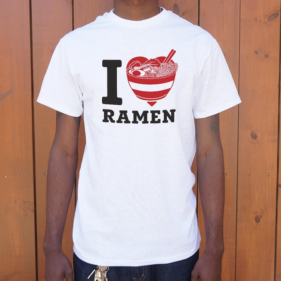 I Love Ramen T-Shirt (Mens)
