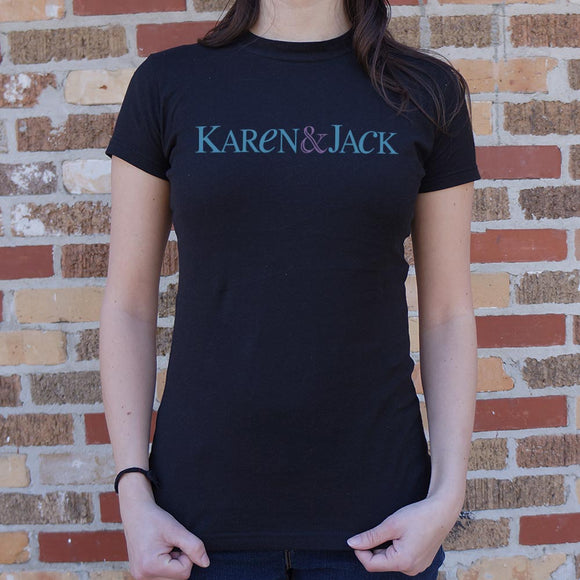 Karen & Jack T-Shirt (Ladies)