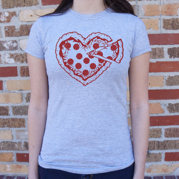 Pizza My Heart T-Shirt (Ladies)