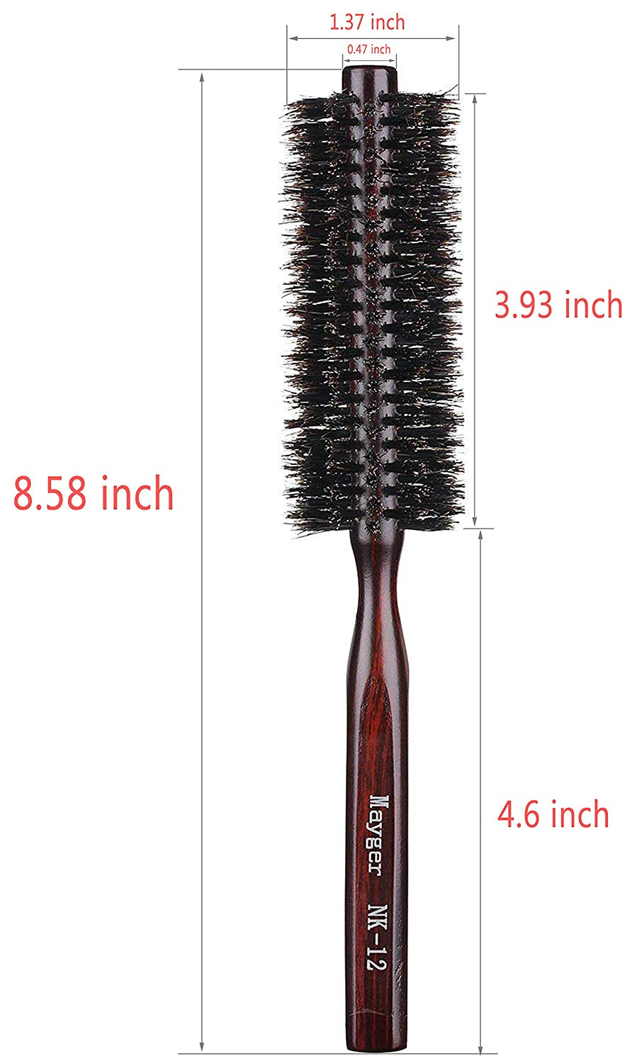 100% boar bristles Round Brush