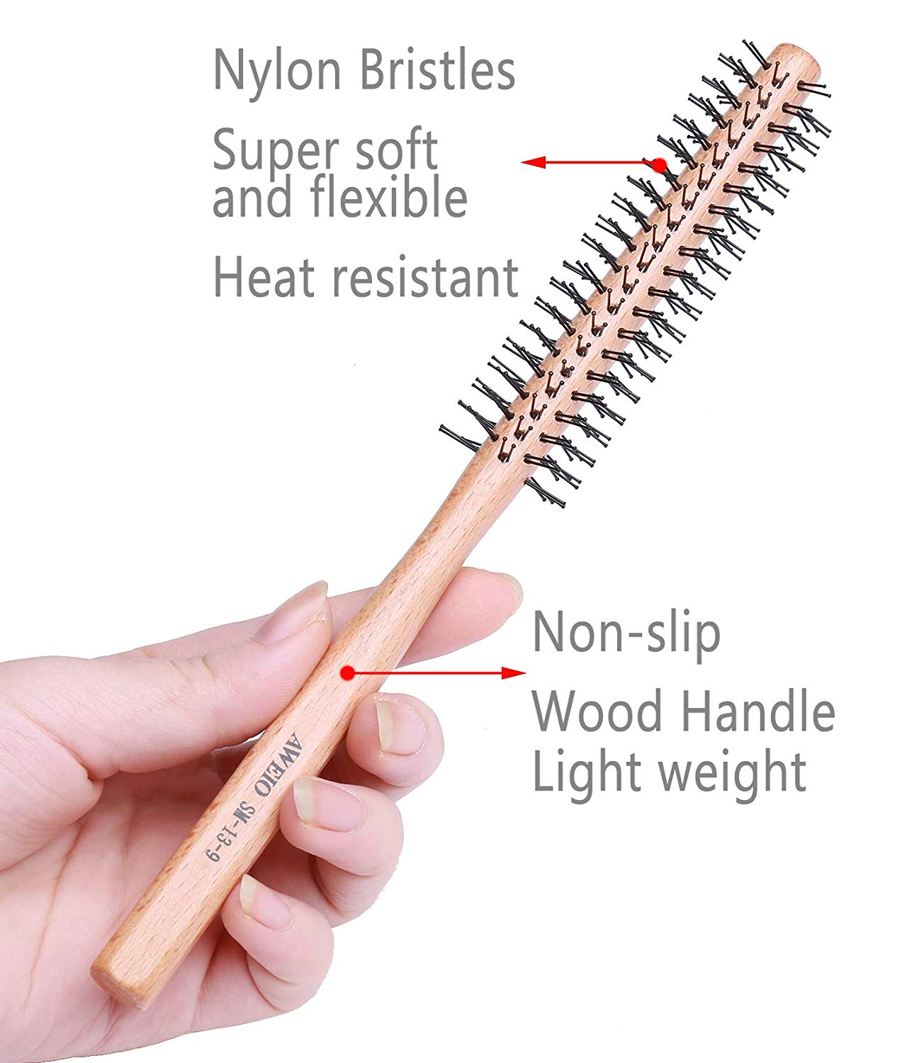 Small Round Brush for Short Hair