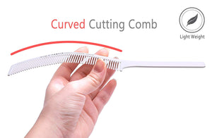 Curved Barber Clipper Comb