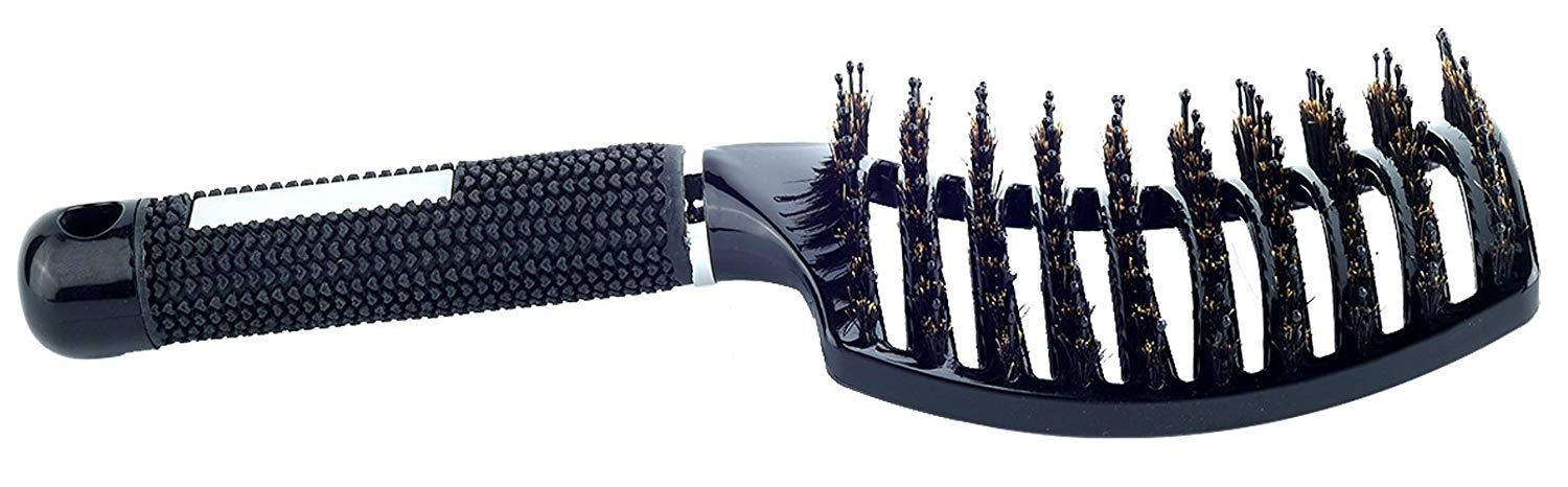 Natural Boar Bristle Hair Brush