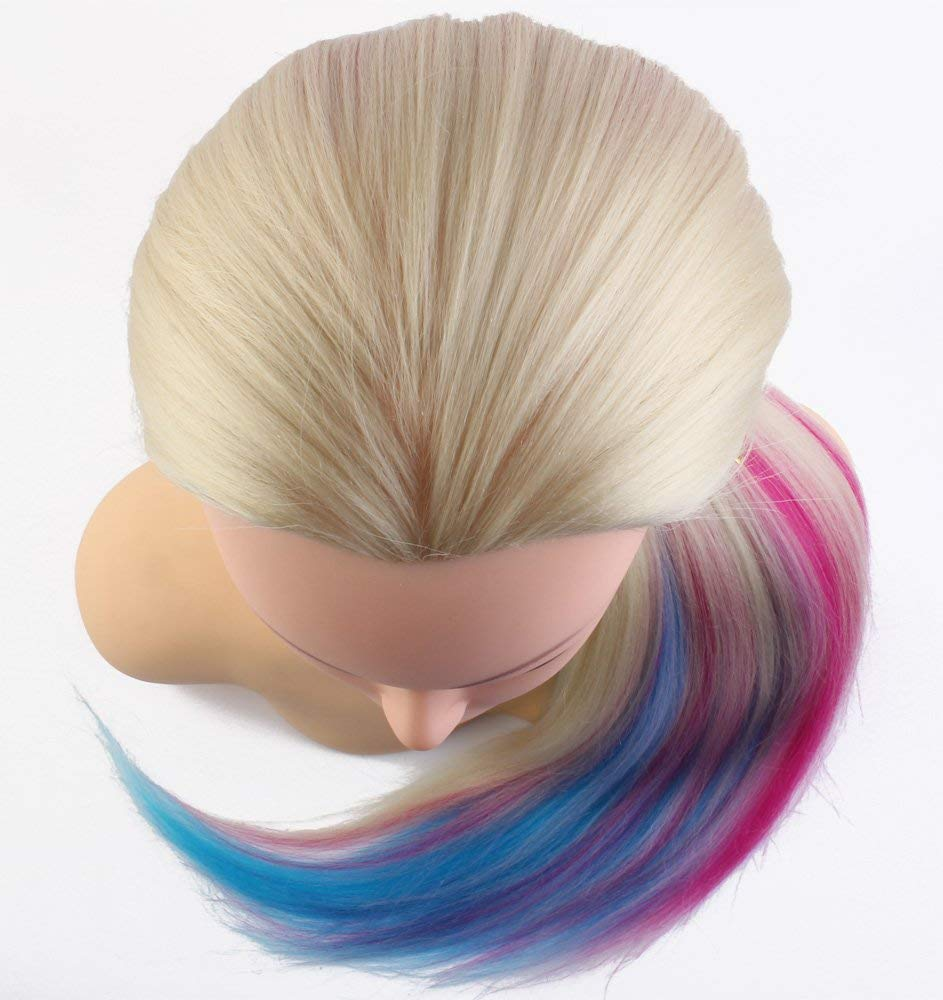 Cosmetology Mannequin Manikin Heads with Hair