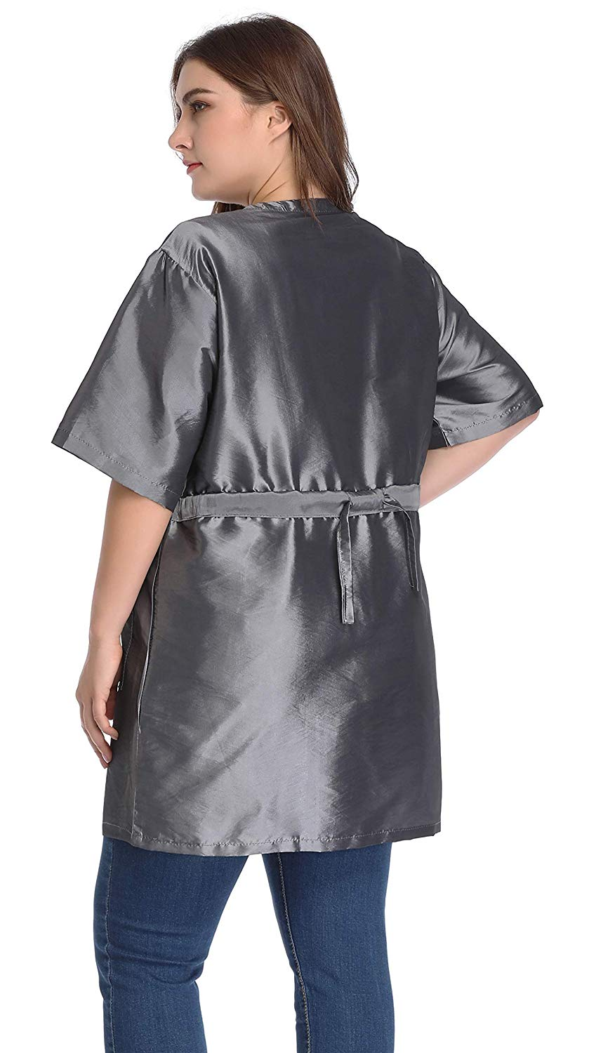 Hair Stylist Grooming Smocks for Women, Barber Apron Jacket Vest for Hair Salon