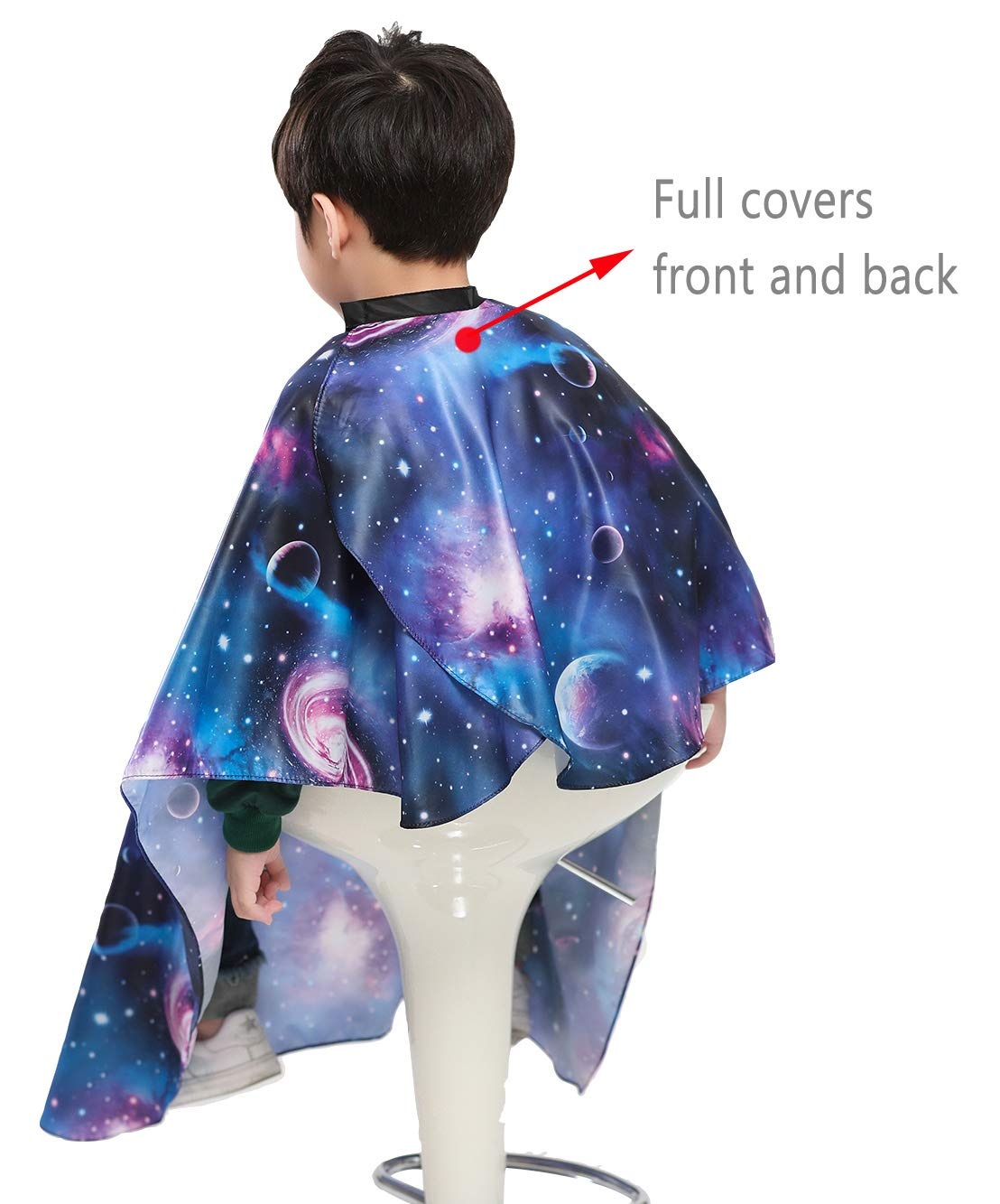 Kids Haircut Barber Cape Cover for Hair Cutting