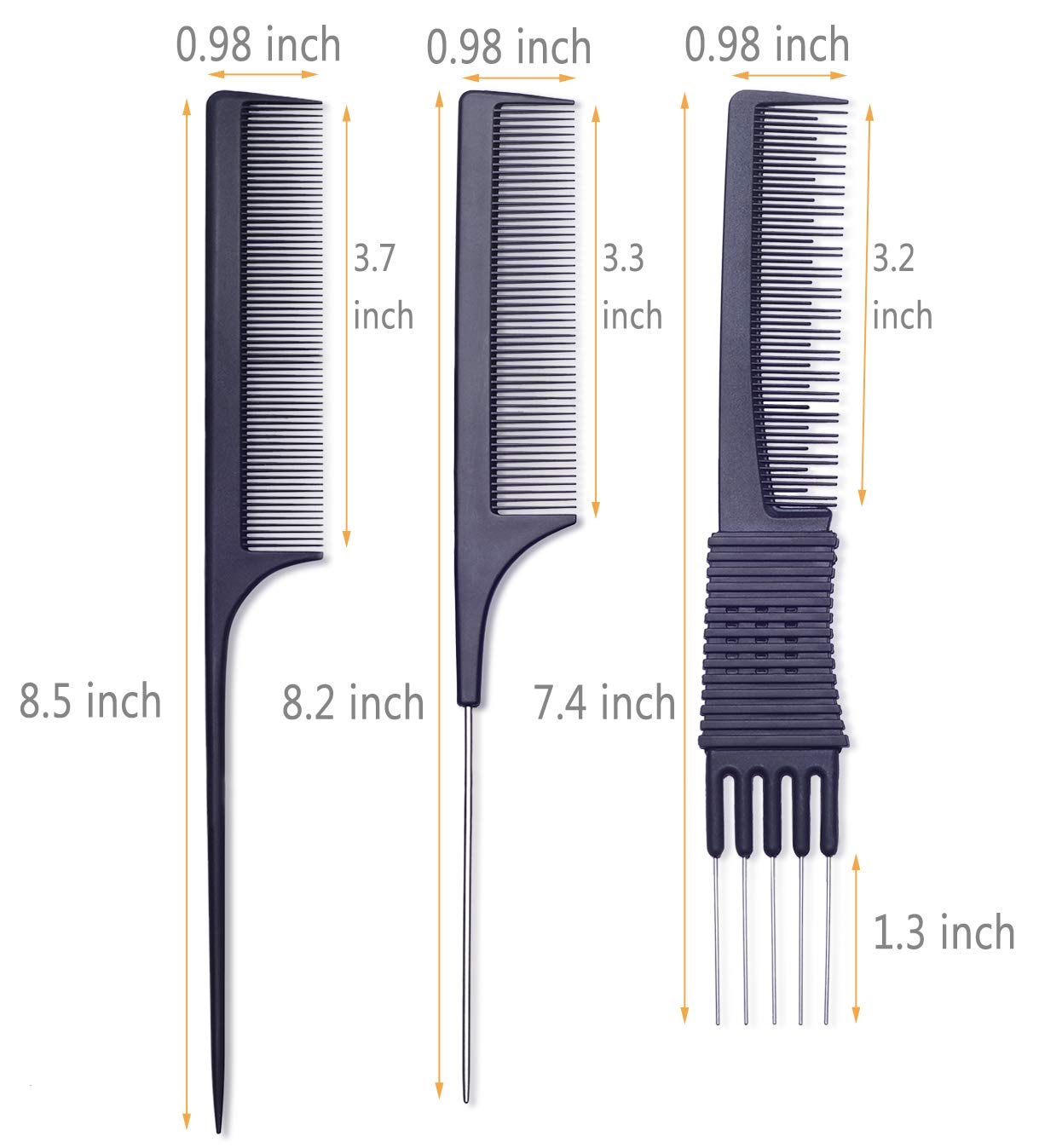 Teasing Comb for Fine Hair