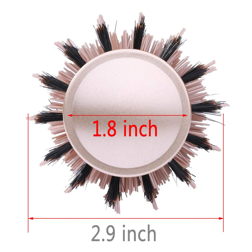 Ceramic Round Metal Brush for Blow Drying