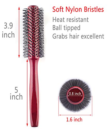 Small Round Hair Brush for Blow Drying