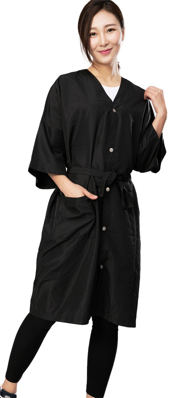 Salon Client Gown Robes Cape-5 Snap Closures