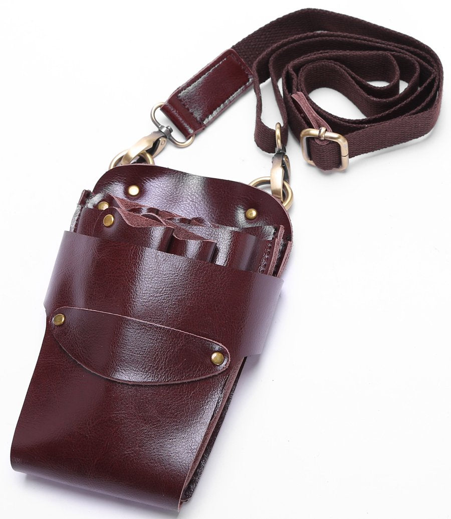 Scissor Pouch Holster with Belt for Hairdressers