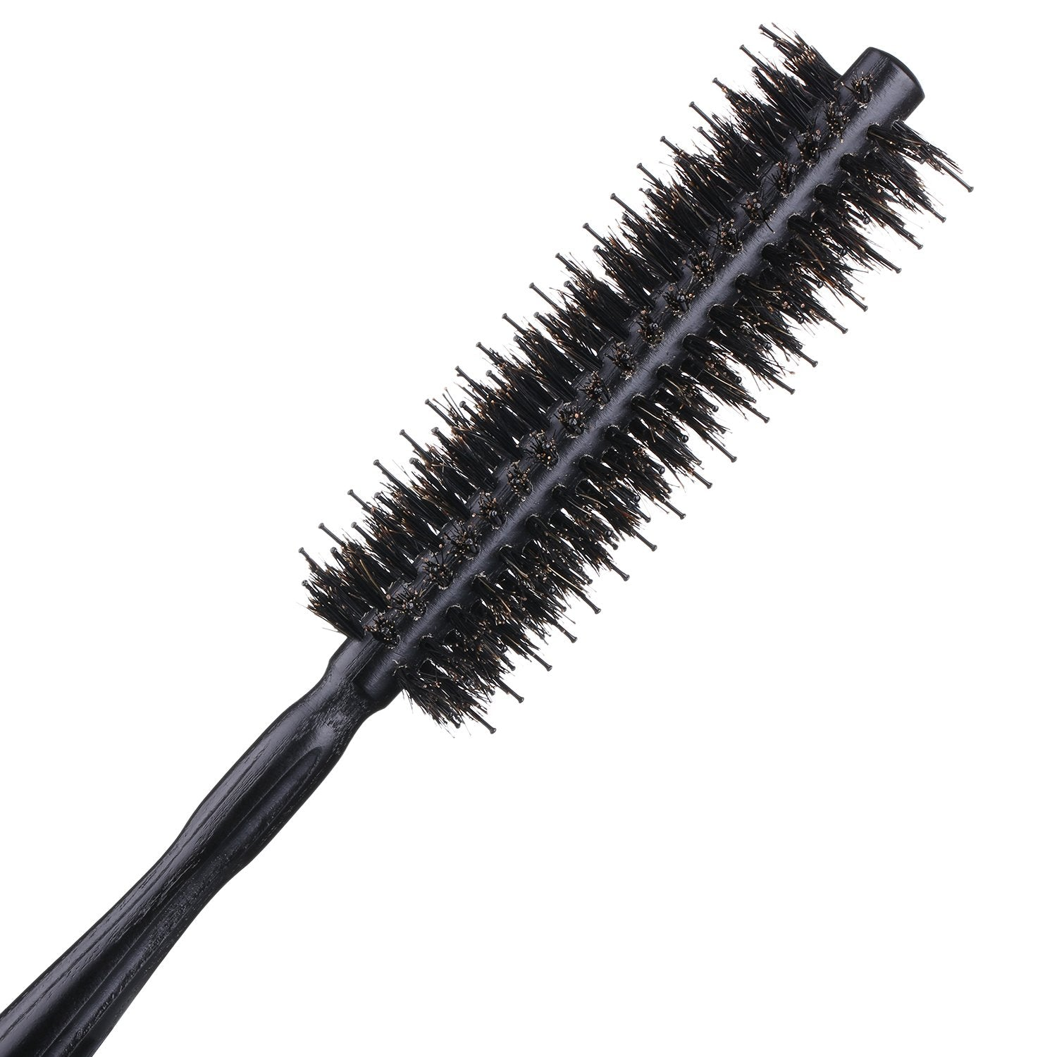 Round Brush with Natural Boar and Nylon Bristles