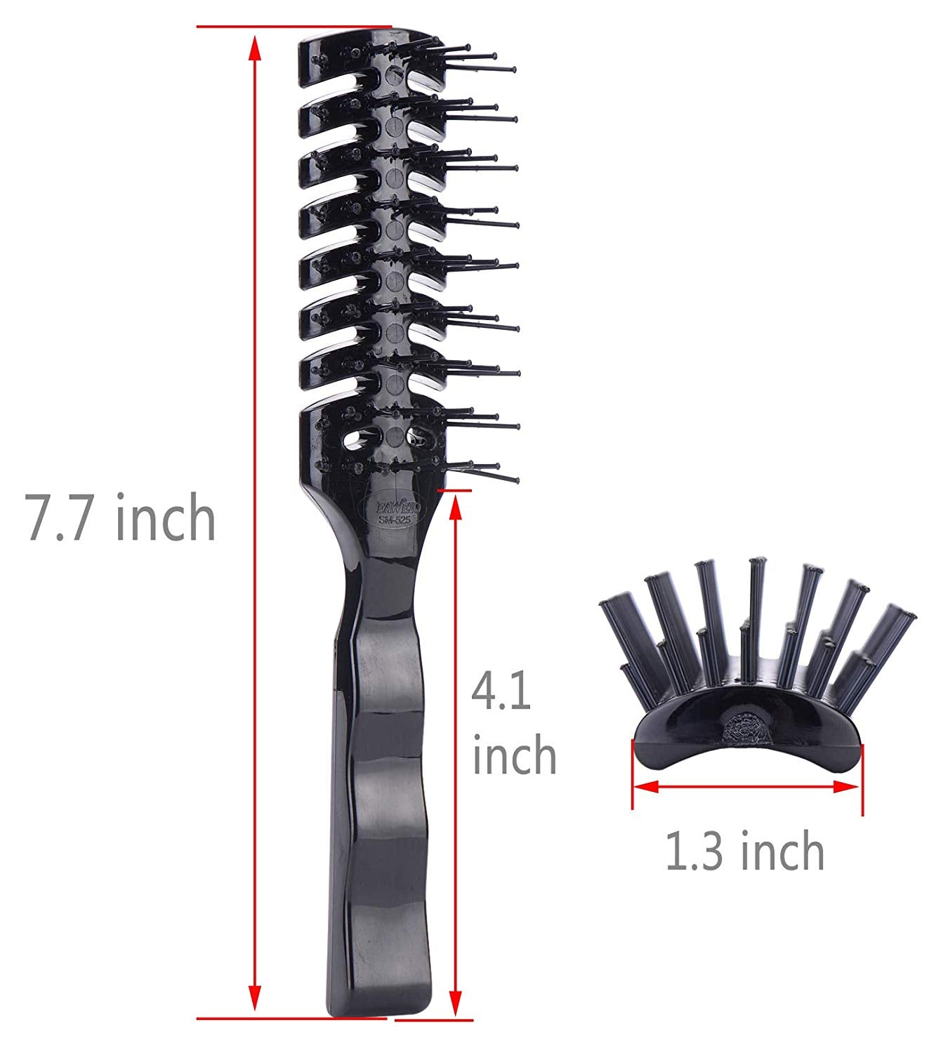 Anti Static Vent Hairbrush for Styling Fine