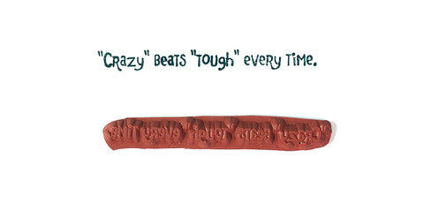 Rubber Stamp - Crazy Beats Tough Every Time