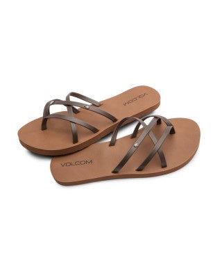 Volcom New School II Brown Sandals