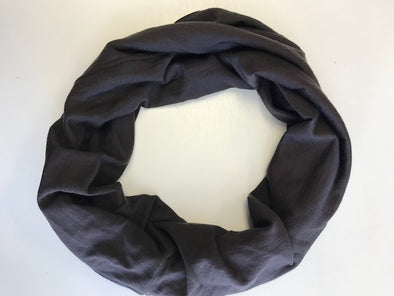 Siren Chain Stitch Snood Espresso Black