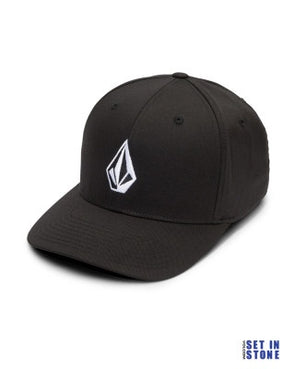 Volcom Full Stone Xfit Flexfit Black