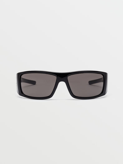 Volcom BS Gloss Black/Grey Sunglasses