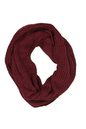 Isle of Mine Clarity Snood Cherry
