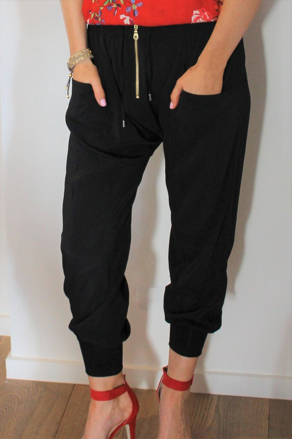 Drama The Label Impress Pants Black
