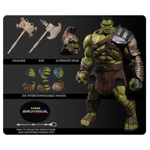 Thor Ragnarok Gladiator Hulk One:12 Collective Action Figure