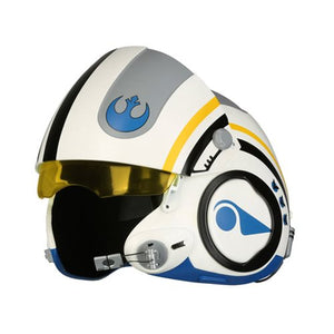 Pre Order Star Wars: The Force Awakens Poe Dameron Blue Squadron Helmet Prop Replica - Free Shipping