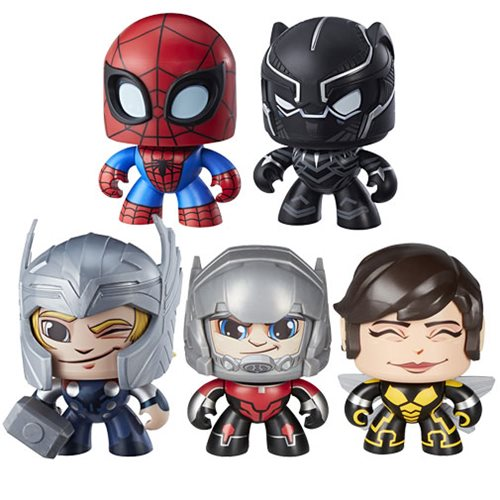 Pre Order Marvel Mighty Muggs Action Figures Wave 4 Case