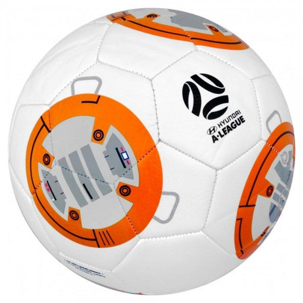 A-League Summit Star Wars BB-8 Soccer Ball - Size 5