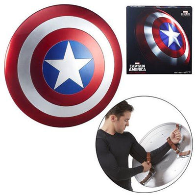 PreOrder Marvel Legends Gear Captain America Shield Prop Replica