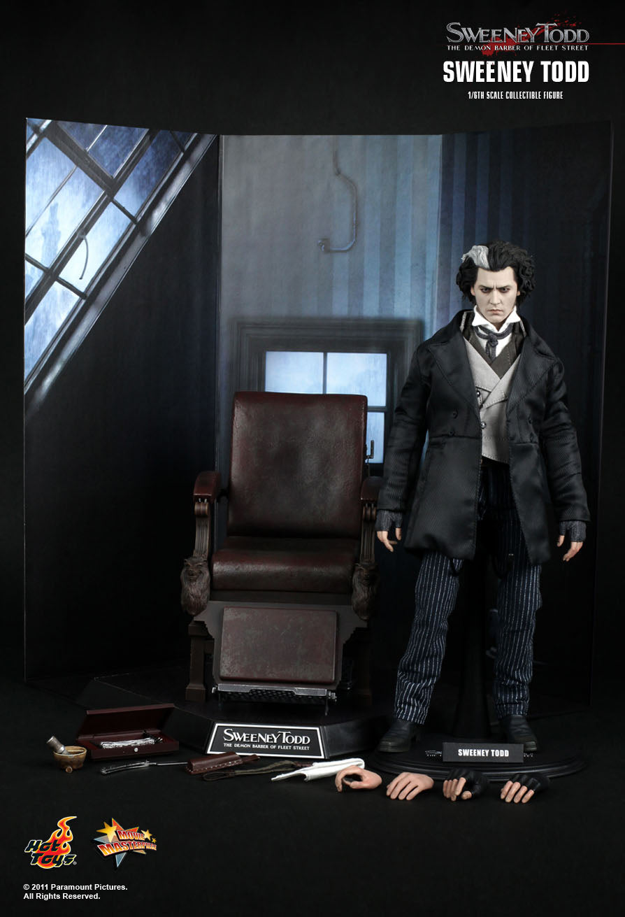 Hot toys SWEENEY TODD: THE DEMON BARBER OF FLEET STREET MMS149