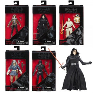 "Star Wars Black Series 6"" Action Figure Wav 3-16 Full Case (6 Figures)"