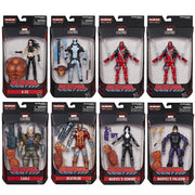 "Marvel Legends Deadpool 6"" Action Figure with Build-A-Figure Wav 1 Full Case - (8 Figures)"