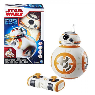 Star Wars E8 The Last Jedi iPlay Hyperdrive Deluxe Delta 1 BB-8 Droid with Remote Control