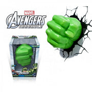 Marvel Avengers Hulk Fist 3DFX Wall Night Light